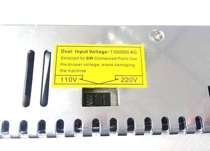 DC12V Power Supply 400W 33A dual input