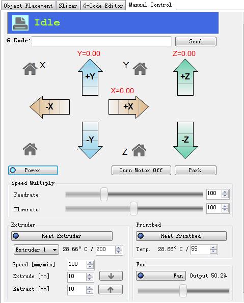 Set 3D Printer Software
