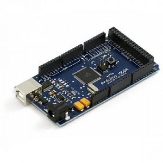 Mega 2560 R3 ATmega2560-16AU Board + USB Cable for Arduino - Black + Blue (CLONE)
