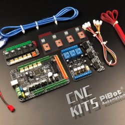 A Set of PiBot Electronics Kits 2.3CM for CNC  - Multi-Driver Board Version (Free Shipping)