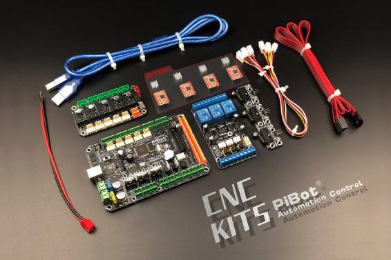 A Set of PiBot Electronics Kits 2.3CM for CNC  - Multi-Driver Board Version (Free Shipping)