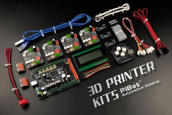 A Set of PiBot Electronics Kits 2.3D for 3D Printer (Free Shipping)