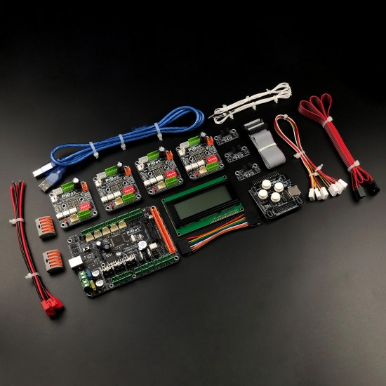 A Set of PiBot Electronics Kits 2.3D for 3D Printer (Free Shipping)