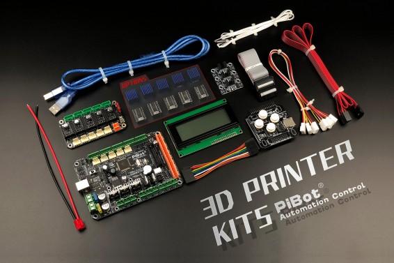 A Set of PiBot Electronics Kits 2.3DM for 3D Printer - Multi-Driver Board Version (Free Shipping)