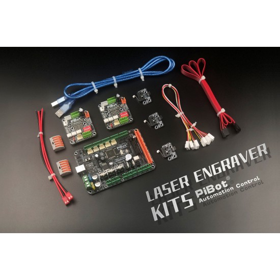 A Set of PiBot Electronics Kits 2.3L for Laser Engraver (Free Shipping)