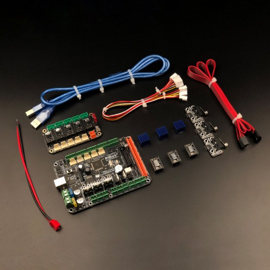 A Set of PiBot Electronics Kits 2.3LM for Laser Engraver  - Multi-Driver Board Version (Free Shipping)