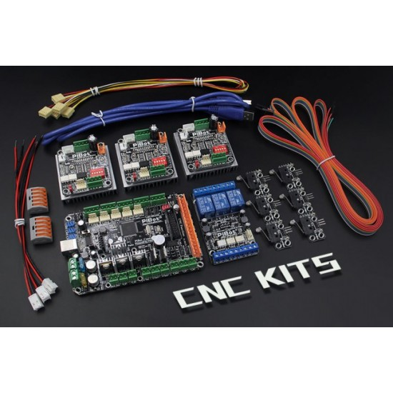 A Set of PiBot Electronics Kits 2.3RM for Robot Control  - Multi-Driver Board Version (Free Shipping)