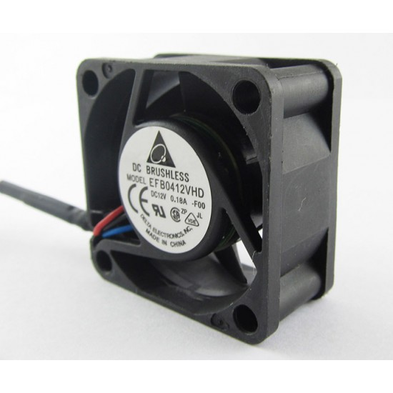 Fan DC 12V 0.18A 3 Wires 40mm × 40mm × 20mm