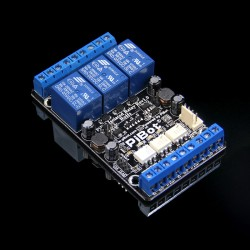 PiBot Isolated Relay Board Rev2.3 (Upgrade to Unique Safe Design)