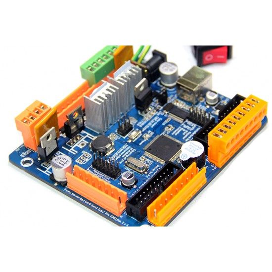 PiBot 3D Printer Controller Board Rev1.6