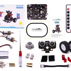 Robot Sets Programmable - micro:bit smart robot car with IR and APP