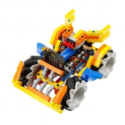 Robot Sets Programmable - Omni:bit Smart Robot Car with Mecanum Wheel and LEGO